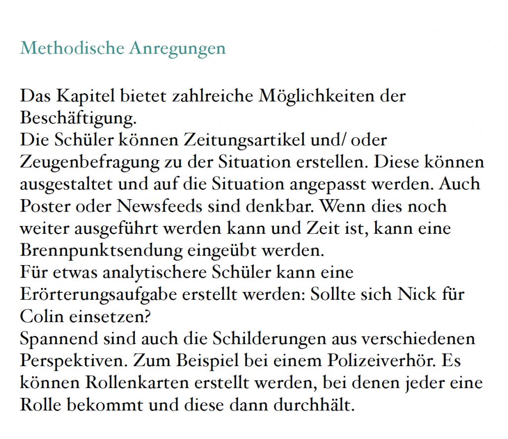 Unterricht Erebos Kinder Und Jugendroman 7 9klasse Bob Blume