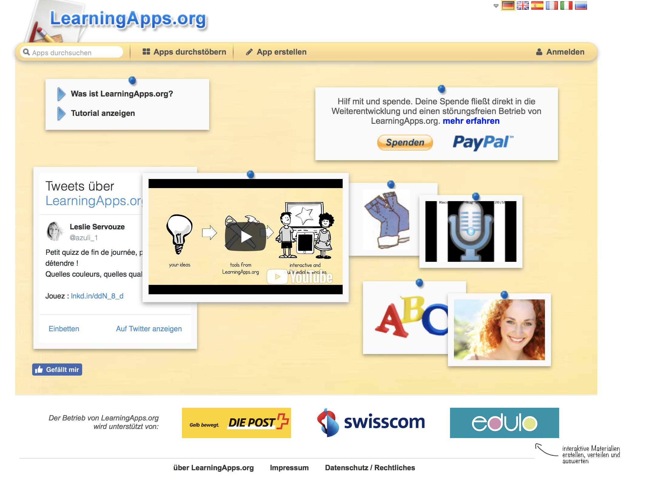 DIGITAL: Learningapps – Alleskönner für den Unterricht